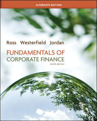 Fundamentals of Corporate Finance Alternate Edition with Connect Plus 9780077630713