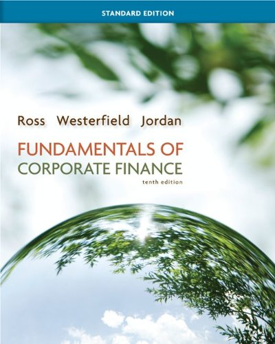 Fundamentals of Corporate Finance 9780078034633