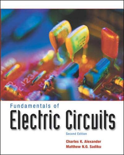 Fundamentals of Electric Circuits [With CDROM] 9780072493504