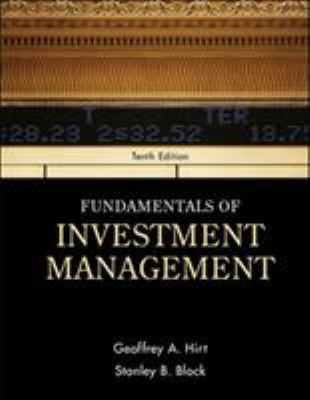 Fundamentals of Investment Management - 10th Edition
