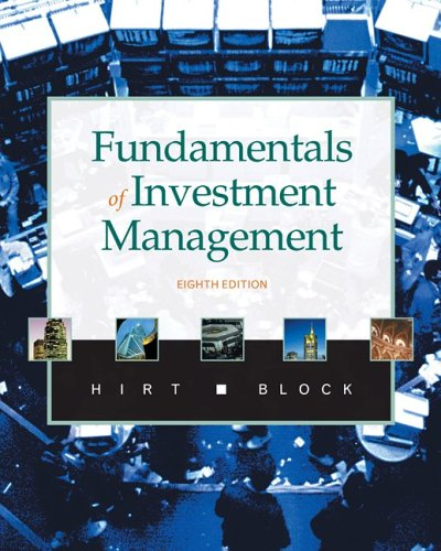 Fundamentals of Investment Management with S&p Access Code 9780073134932
