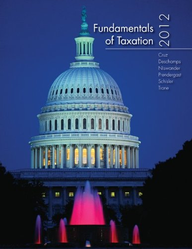Fundamentals of Taxation 2012 Edition with Taxation Software
