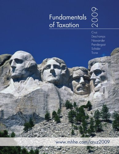 Fundamentals of Taxation [With CDROM] 9780077292652