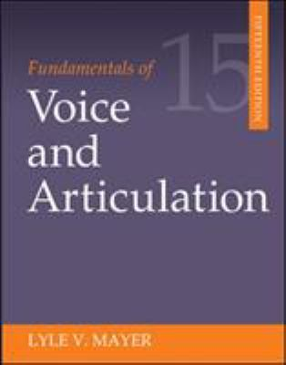 Fundamentals of Voice and Articulation 9780078036798