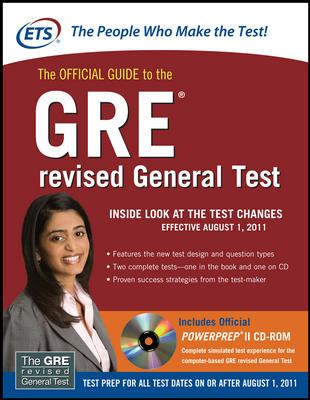 The Official Guide to the GRE Revised General Test [With CDROM] 9780071700528