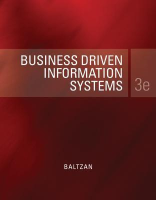 Gen Cmb LL Bus Driven Info Sys 9780077863838