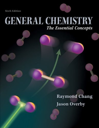 General Chemistry: The Essential Concepts 9780077354718