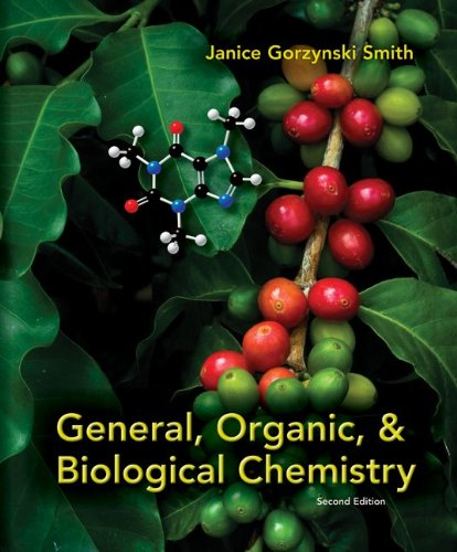 General, Organic, & Biological Chemistry 9780073402789