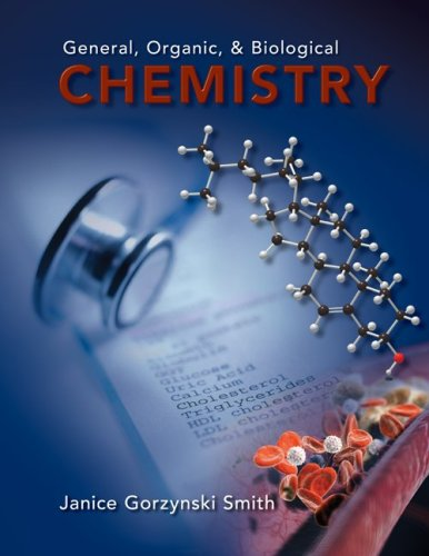 General, Organic, & Biological Chemistry 9780077274290