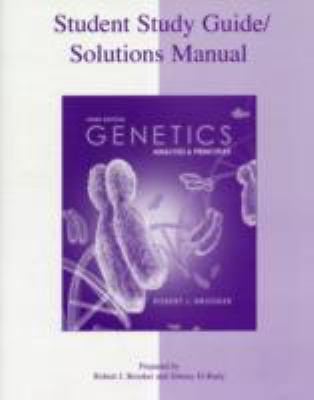 Genetics : Analysis and Principles - 3rd Edition