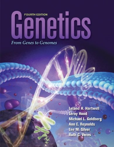 Genetics By Leland Hartwell  Leroy Hood  Michael L