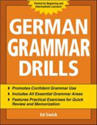 German Grammar Drills 9780071475143
