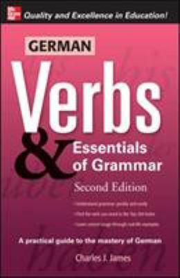 German Verbs & Essentials of Grammar 9780071498036