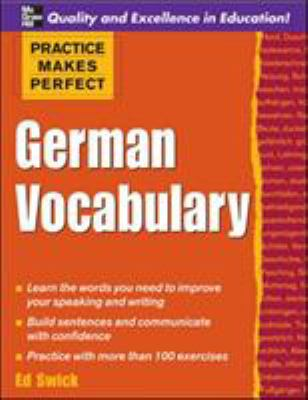 German Vocabulary 9780071482851