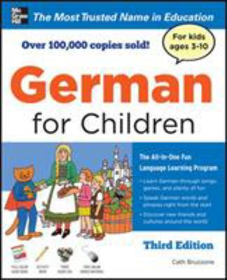 German for Children with Two Audio CDs, Third Edition 9780071745031