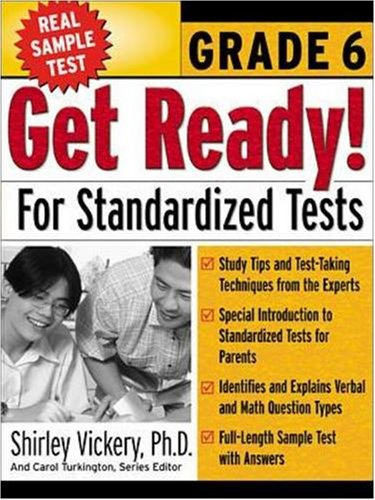 Get Ready! for Standardized Tests: Grade 6 9780071360159