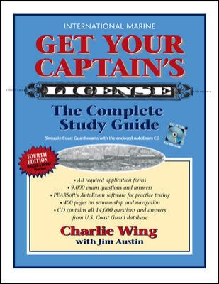 Get Your Captain's License [With CDROM] 9780071603690