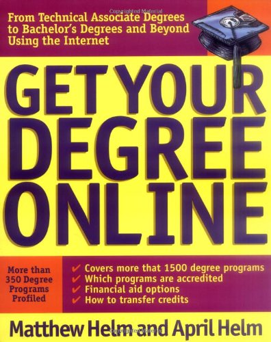 Get Your Degree Online 9780071357135