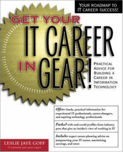 Get Your It Career in Gear! 9780072126839