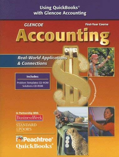 Glencoe Accounting: Real-World Applications & Connections [With CDROM] 9780078740374