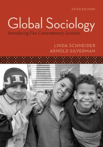 Global Sociology: Introducing Five Contemporary Societies 9780073404189