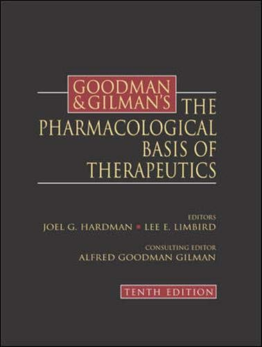 Goodman & Gilman's the Pharmacological Basis of Therapeutics - 10th Edition