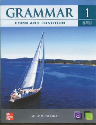 Grammar Form and Function Level 1 Student Book with E-Workbook 9780078051791