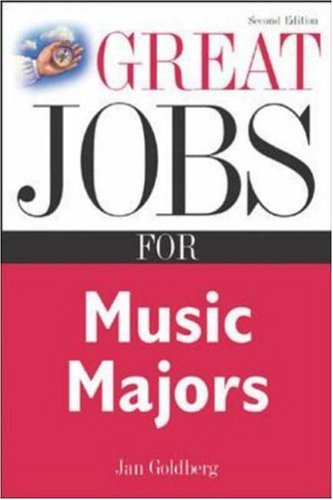 Great Jobs for Music Majors 9780071411608