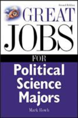 Great Jobs for Political Science Majors 9780071411592