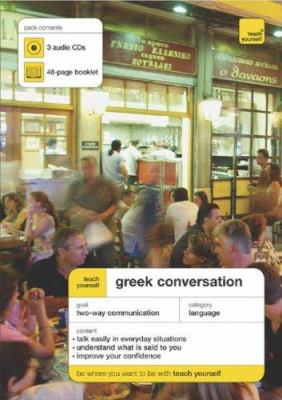 Greek Conversation [With 48-Page Booklet] 9780071468350