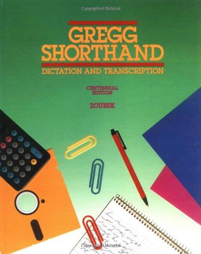 Gregg Shorthand 9780070736719