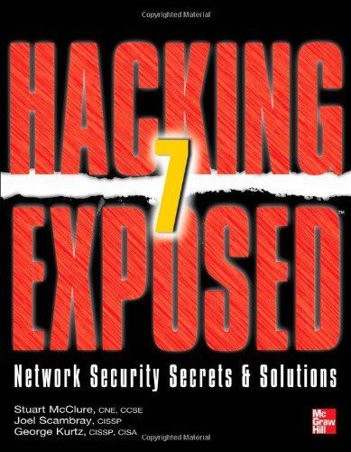 Hacking Exposed 7: Network Security Secrets & Solutions 9780071780285