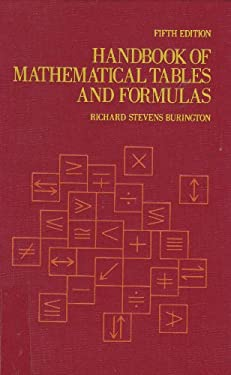 Handbook of Mathematical Tables and Formulas 9780070090156