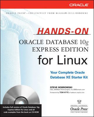Hands-On Oracle Database 10g Express Edition for Linux [With CDROM] 9780072263275