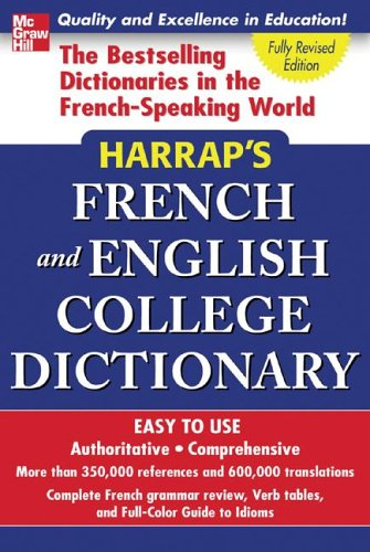 Harrap's French and English College Dictionary 9780071456654