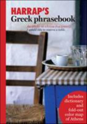 Harrap's Greek Phrasebook [With Foldout Map] 9780071482486