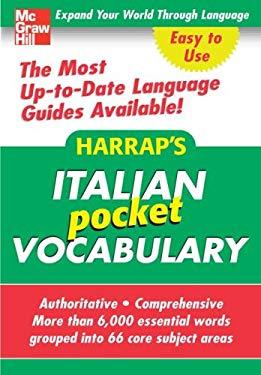 Harrap's Italian Pocket Vocabulary 9780071627917