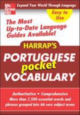 Harrap's Portuguese Pocket Vocabulary 9780071636193