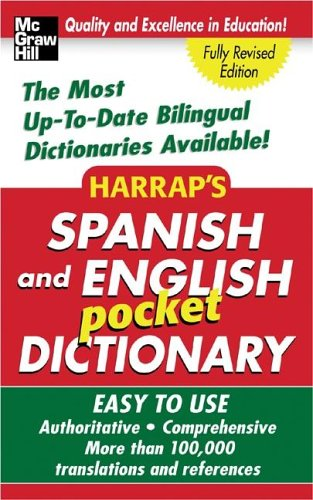 Harrap's Spanish and English Pocket Dictionary 9780071456692