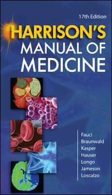 Harrison's Manual of Medicine 9780071477437