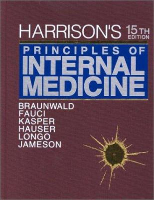 Harrison's Principles of Internal Medicine, 15/E Textbook & Self-Assessment and Board Review 9780071391023