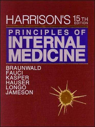 Harrison's Principles of Internal Medicine 9780070072725