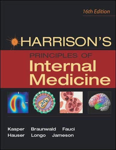 Harrison's Principles of Internal Medicine 9780071402354