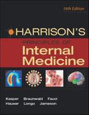 Harrison's Principles of Internal Medicine Set 9780071391405