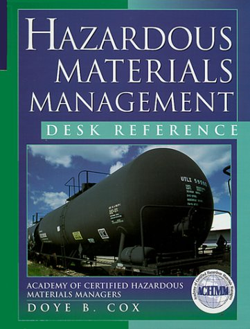 Hazardous Materials Management Desk Reference 9780071351737