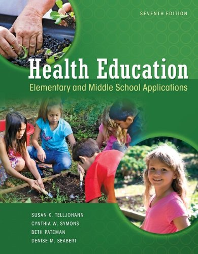Health Education: Elementary and Middle School Applications 9780073529684