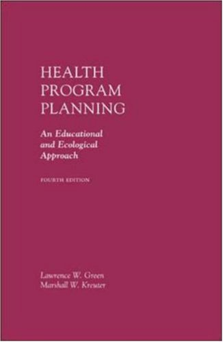 Health Program Planning: An Educational and Ecological Approach with Powerweb Bind-In Card 9780072985429