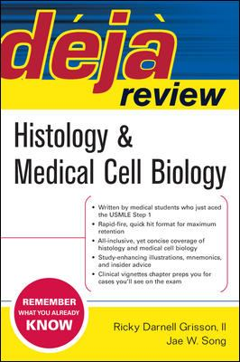 Histology & Medical Cell Biology 9780071470490