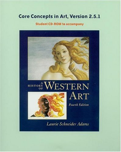 History of Western Art's Core Concepts CD-ROM, V 2.5 9780072995954
