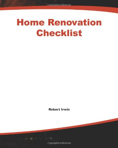 Home Renovation Checklist 9780071415033